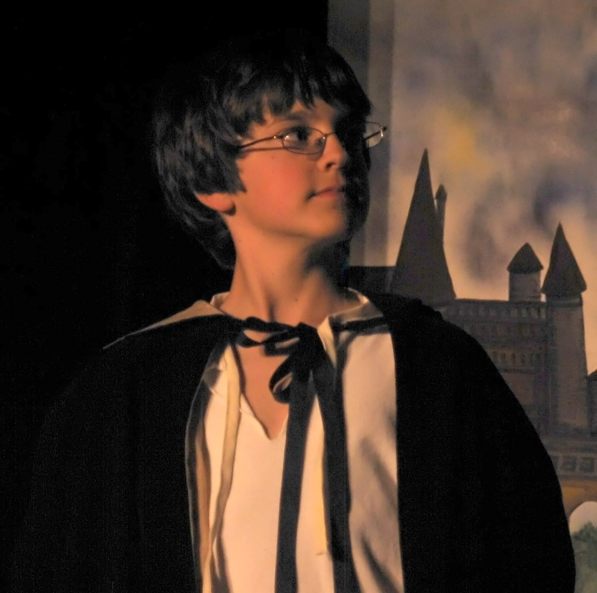 Harry Potter and the Deathly HallowsYoung James Potter