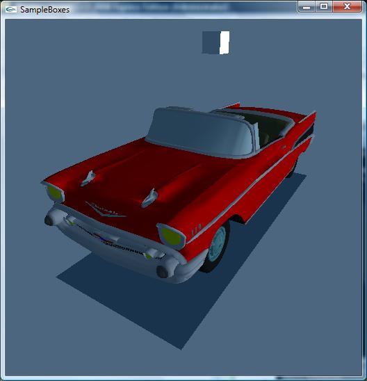 PhysX Car modeling